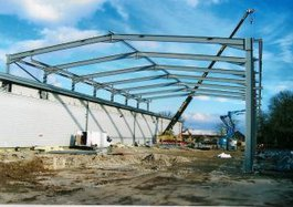 Leicestershire Warehouse building contractors extensions
